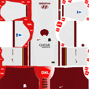 As Roma 2020-2021 DLS Kits Forma away- Dream League Soccer