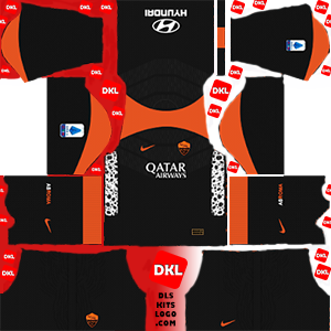 As Roma 2020-2021 DLS Kits Forma -third- Dream League Soccer