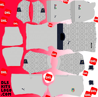 Italy 2020-2021 DLS Kits gk-home-Dream League Soccer