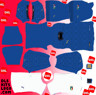 Italy 2020-2021 DLS Kits home-Dream League Soccer