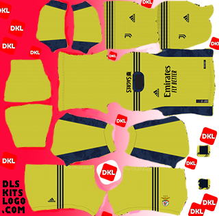 SL Benfica 2020-2021 DLS Kits gk-third-Dream League Soccer