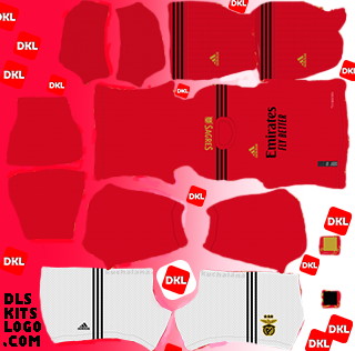 SL Benfica 2020-2021 DLS Kits home-Dream League Soccer