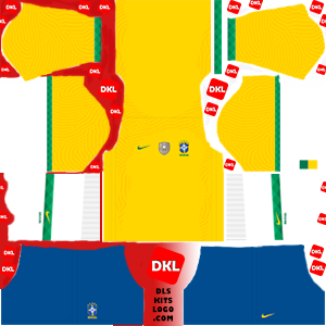 Brazil Copa América-dls-kits-2021-dls21-home