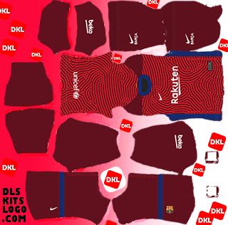 Dls-Barcelona-kits-2021-gk-away -Dream League Soccer