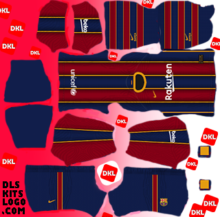 Dls-Barcelona-kits-2021-home -Dream League Soccer