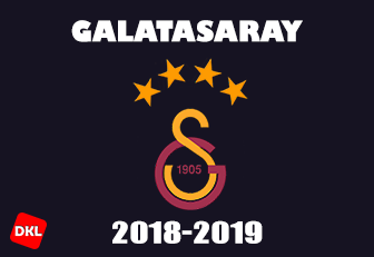 Galatasaray 2018-2019 DLS Forma Kits Logo cover