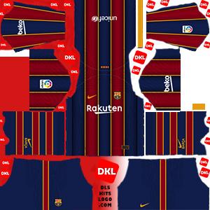 Dls-Barcelona-kits-2021-nike-home -Dream League Soccer