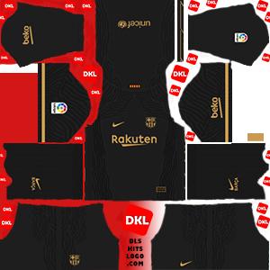 Dls-Barcelona-kits-2021-nike-away -Dream League Soccer