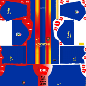 Dls-Barcelona-kits-2021-nike-fourth -Dream League Soccer