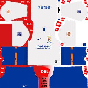dls-Shandong Luneng-kits-2019-away