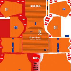 dls-Shandong Luneng-kits-2019-home