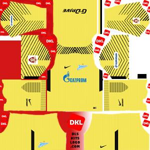 dls-Zenit St Petersburg-kits-2017-2018-gkthird
