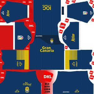 dls-UD LAS PALMAS kits-2017-18-gkhome