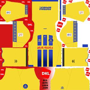 dls-UD LAS PALMAS kits-2017-18-home